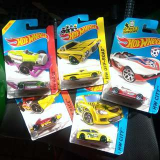 [Ambil Semua] Hot Wheels Ford, Arrow, Carbonator, Audacious, Yur So Fast