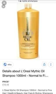 L'Oréal Mythic Oil Shampoo