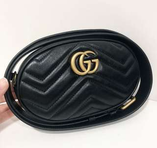 Gucci Belt Bag 85cm in BLACK