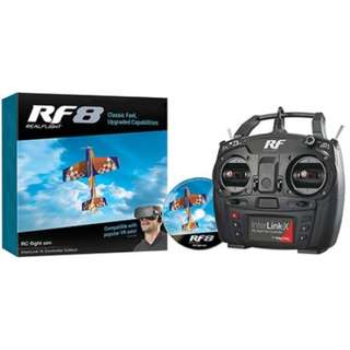 🚚 RealFlight RF-8 with Interlink-X Controller, Mode 2 - In Stock!