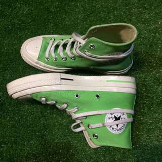 converse 70's high illusion green