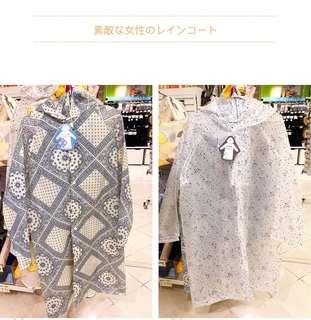🚚 日本女性輕便型雨衣