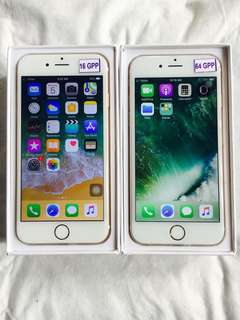 Iphone 6 16gb and 64gb