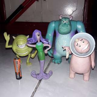 Monsters Inc Set