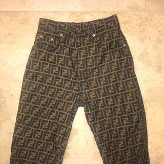 Fendi ZUCCA Pants