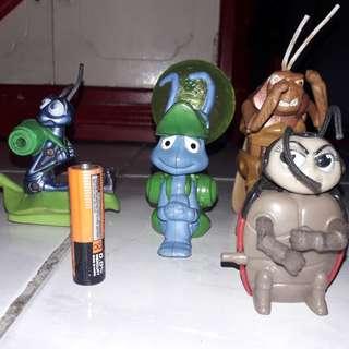 A Bug's life set