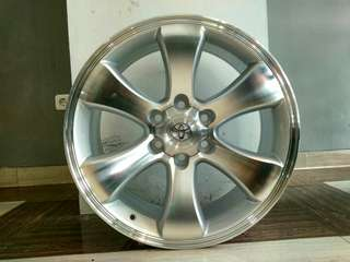 velg replika fortuner ring 20 fcd 6x139,7