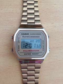 Authentic Casio Rosegold