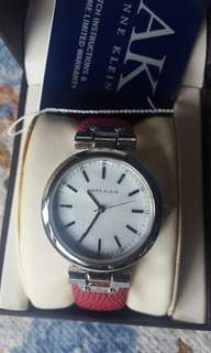 Anne Klein Mother of Pearl Watch