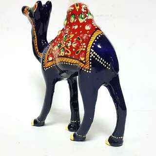 Camel with  fused natural colors using Meenakari art