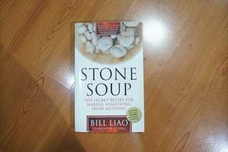 Classic, Hard to Find Book - Stone Soup: The Secret Recipe for Making Something from Nothing