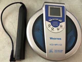 Wearnes VCD . MP3 . CD Player ( Spoilt )