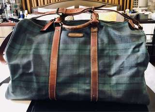 AUTHENTIC VINTAGE POLO RALPH LAUREN WEEKENDER BAG