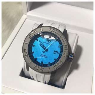 ORIGINAL TECHNOMARINE MEN'S REEF AUTOMATIC TITANIUM SILICON WATCH TM516005