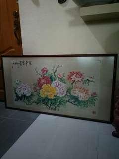 Chinese Painting 荣华富贵