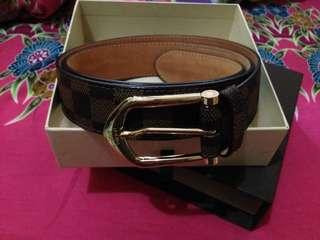 LV Leather Belt Original