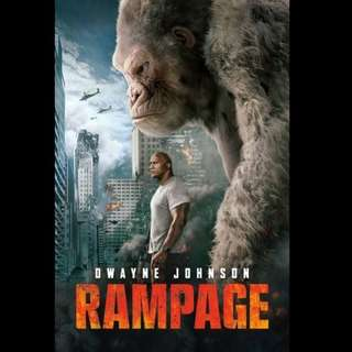 [Rent-A-Movie] RAMPAGE (2018) (Admin's Choice)