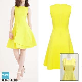 In Stk Nursing Dress Fit and Flare SNDS-0002