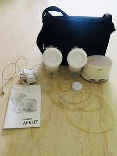 Phillip Avent Double electric breast pump