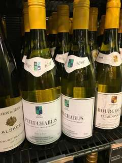 Marks spencer Petit Chablis wine 2016