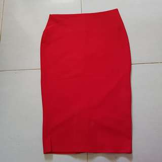 Bodycon Red Shirt