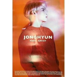 [WTS] Jonghyun Poet|Artist Official Poster