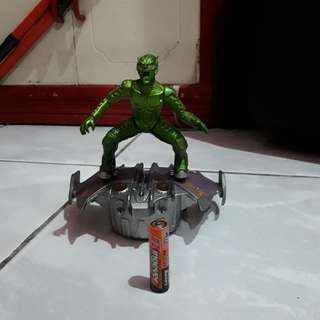 Green Goblin Figure with Glider