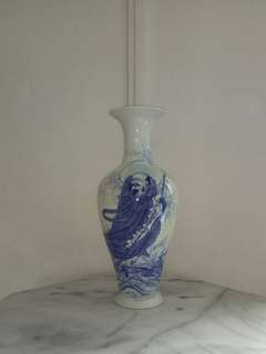 Olden Porcelain Vase Height 40cm Perfect