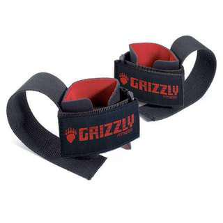🚚 Deluxe Cotton Lifting Straps - Grizzly