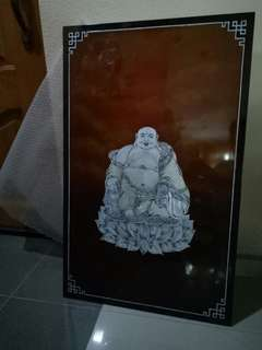 Buddha picture in mother of pearl