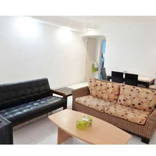 (3+1) 118 Serangoon North Ave 1 –  Near Market, Food Center, Furnished, All Races Welcome!