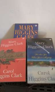Novel Mary Higgins Clark