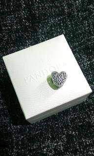 Pandora Openwork Heart Charm