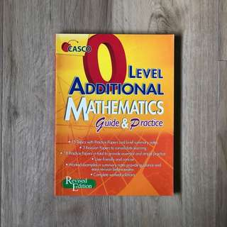 CASCO O Level A-Math Revised Edition Assessment Book