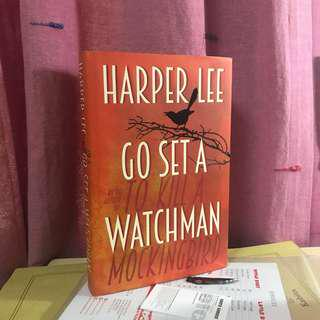 NEGO hardcover harper lee go set a watchman