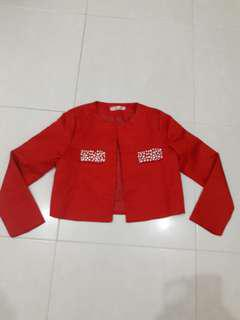 Red outwear new