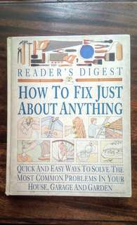 🔱HOW TO FIX JUST ABOUT ANYTHING - Reader`s Digest🔱