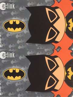 Limited Edition brand new DC Comics Batgirl Design ezlink Card For $10 EACH.