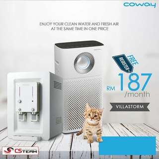 Air Purifier Coway and Water Purifier Coway