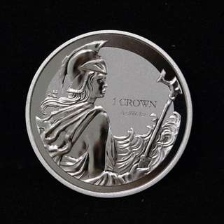 2017 1 oz Falkland Islands Anniversary Of Liberation Silver Coin (BU)