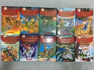 Geronimo Stilton Kingdom of Fantasy series