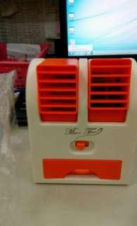 Mini fan air cooler