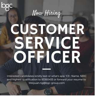 CUSTOMER SOLUTION OFFICER UP TO $2000 ( CENTRAL AREA)