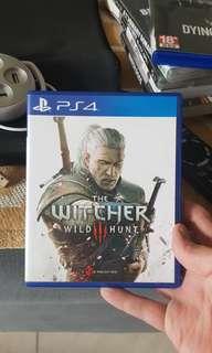 PS4 Witcher III Wild Hunt CD