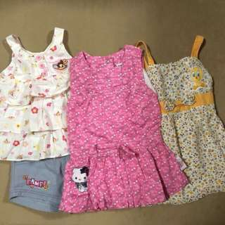 3-6 months summer dress (REPRICED)