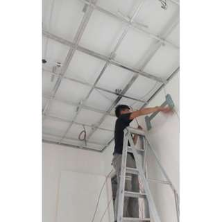 Drop Ceiling and cove light Installation