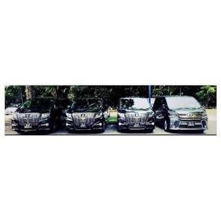 Wedding Car (Alphard/Vellfire)