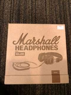 Marshall headphone major