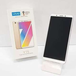Vivo Y 71 ram 3 GB bisa dicicil dengan syarat mudah Dan proses cepat