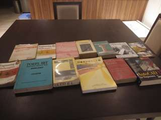 Civil Engineering and Physical Theraphy Books